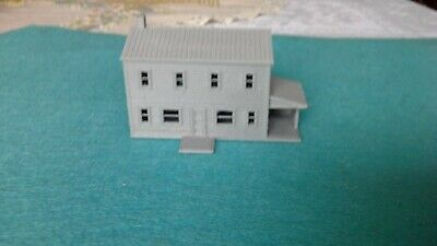 Scale Two Story House - (1)