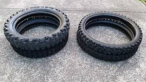 Dirt bike tyres DOT approved 1 as new KLR KTM YZ KX BMW DRZ CRF Eden Bega Valley Preview
