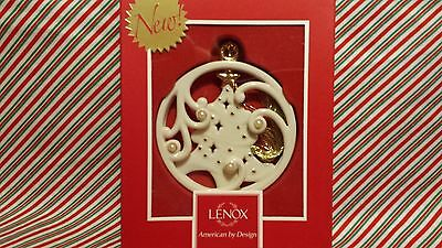 "LENOX ""WINTER WONDERLAND TREE ORNAMENT"" --- NEW IN BOX"