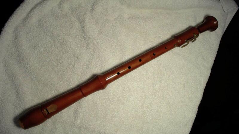 Tenor Recorder: Vintage, Wood. Alexander Heinrich: Royal Model. Warm Tone.