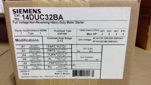 14DUC32BA Siemens