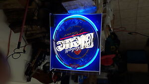 Labbat blue neon light 34x24