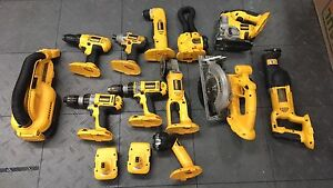 Huge dewalt collection 18v lithium and XRP