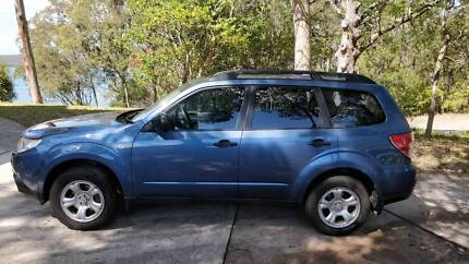 2010 Subaru Forester MY10 X AWD Blue Manual Wagon Coal Point Lake Macquarie Area Preview