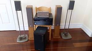 Onkyo TX NR807 surround system with 6 speakers incl sub Winchelsea Surf Coast Preview
