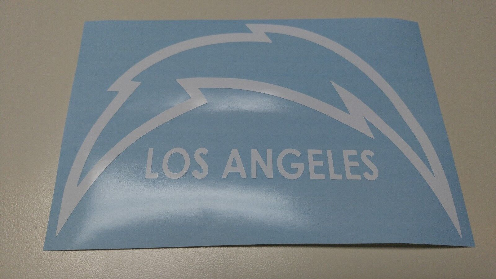 Window Toolbox Sticker #406 NFL Los Angeles Chargers Stickers