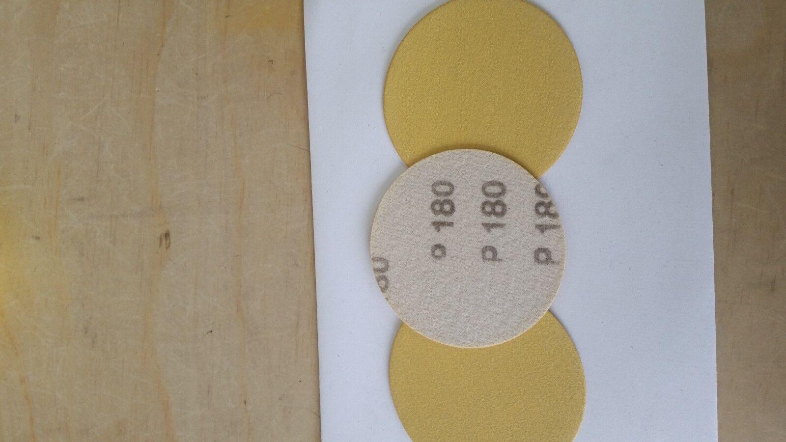 """Sandpaper 3"""" DA 180 Grit Hook & Loop/ Grip  25 pc"""