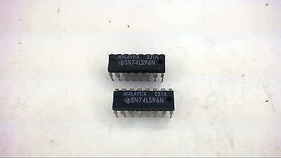 Texas Instruments Sn74ls96n 5-bit Shift Register 16-pin Dip New Quantity-5