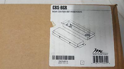 Middle Atlantic CBS-BGR Caster Base Kit Middle Atlantic Caster Base