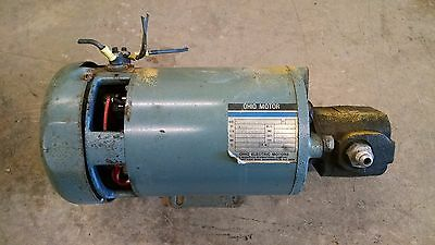 Hyster E30XL Electric Forklift Ohio Motor JS Barnes C-481513X7525 325186 Pump