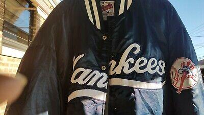- Vtg New York Yankees Starter Diamond Collection Sewn Quilt Snap Jacket