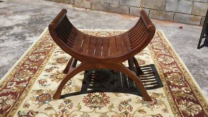 Balinese Wooden Stool Cleveland Redland Area Preview
