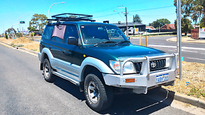 1998 Toyota LandCruiser Prado GXL 4WD Auto Dual fuel Backpacker Enfield Port Adelaide Area Preview