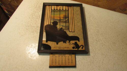 1936 Silhouette Picture Dallas County Savings Ban Minburn Iowa