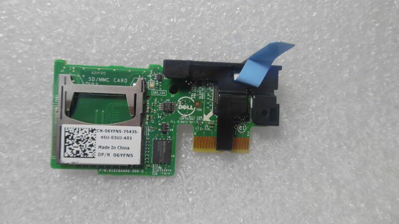 Dell 6yfn5 Internal Dual Sd Mmc Card Module Reader