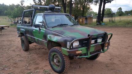 Toyota hilux piggin/shooting farm buggy