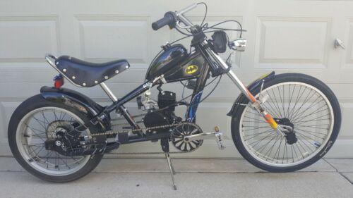 "Schwinn Stingray Motor Bike Orange County Chopper ""Batman"" Mini Bike 20"""