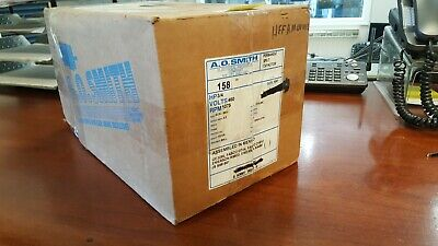 New A.o. Smith Pump Refrigeration Condenser Fan Motor - 158- Hf3l042