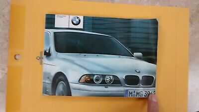 2002 BMW 5 Series Sedan Sports Wagon Owners Manual