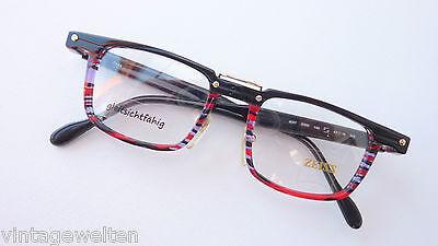 Zeiss extravagante Brillenfassung für Herren farbig Markenbrille 47-19 Grösse M