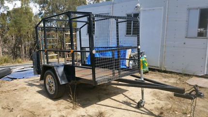 Toy hauler trailer