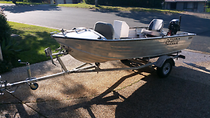 Tinny  CLARK   3-66mtr  with  15hp  SUZUKI Parkwood Gold Coast City Preview