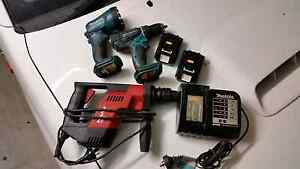 Makita 18v hilti drill combo Springfield Ipswich City Preview