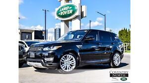 2016 Land Rover Range Rover Sport Diesel 21 Wheels!! Low KM's!!