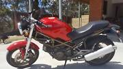 DUCATI MONSTER 400 RED LAM APPROVED Mount Nelson Hobart City Preview
