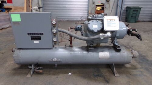 Carrier Carlyle Compressor Model 06E9299310 With Control Panel and Tank