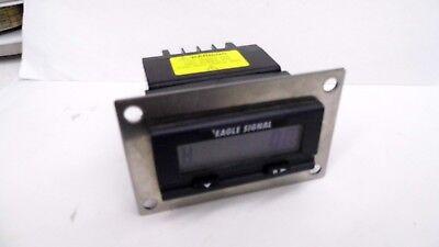EAGLE SIGNAL A103-008 PRESET PANEL MOUNT TIMER/ELAPSED TIME INDICATOR Elapsed Time Timer