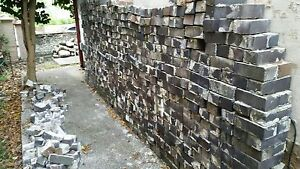 Bricks blue/grey bricks used and not cleaned Petersham Marrickville Area Preview