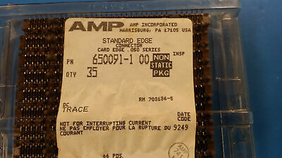 1pc 650091-1 Tyco Conn Board To Board Skt 66 Pos 1.27mm Press Fit St Thru-hole