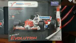 BRAND NEW RADIO CONTROL CAR NIKKO PANASONIC TOYOTA RACING Castle Hill The Hills District Preview