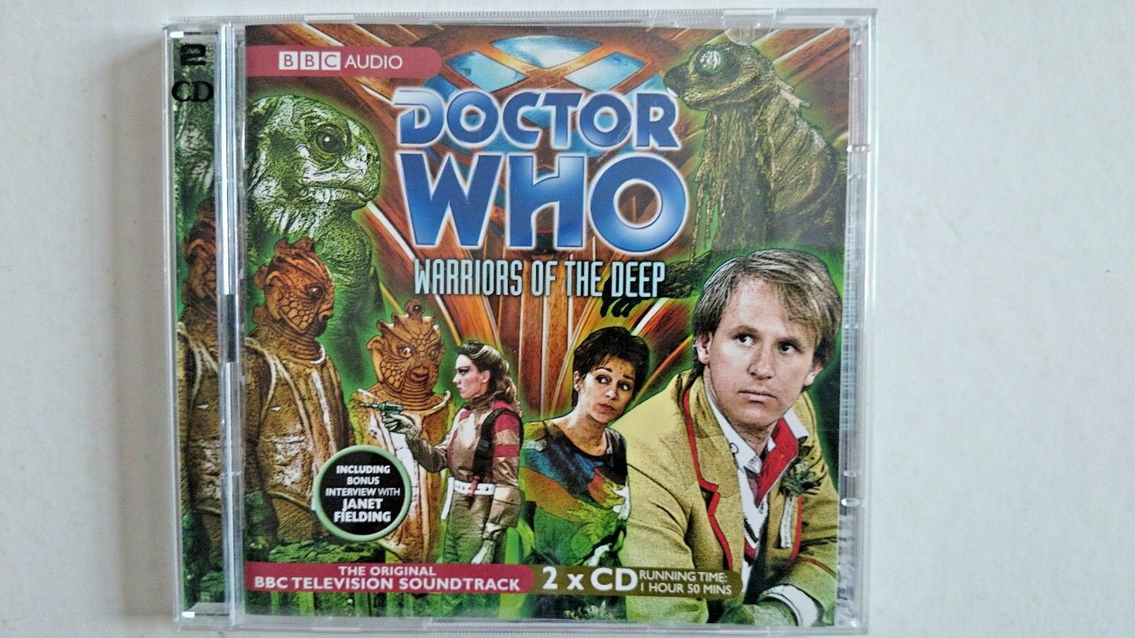 Doctor Who , Warriors of the Deep  (CD-Audio, 2008) Peter Davidson