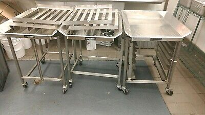 Stainless Steel Henny Penny Dump Table