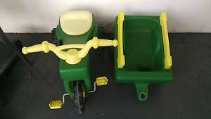 John Deere rideon trike and wagon pedal car Lockleys West Torrens Area Preview