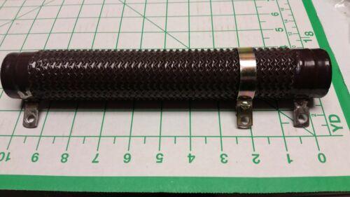 "MRC 50 ohm 500 watt  adjustable tubular ceramic resistor 10.5""l x 1.7""od NOS"
