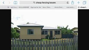 Wanted fence for Bowen 100m any type will do. Bowen Whitsundays Area Preview