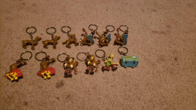 Scooby Doo Keychain In Small Plastic Egg