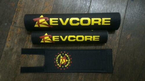 Black REVCORE repro padset BMX oldschool vintage RARE