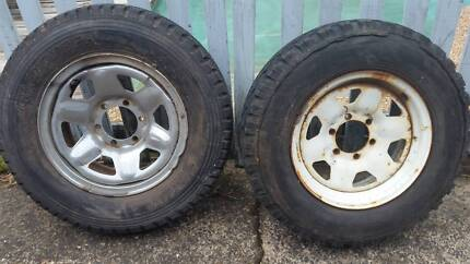 14, 13, 15 and 16 inch Tyres  (5, 4 &6 Stud) rim and great tread