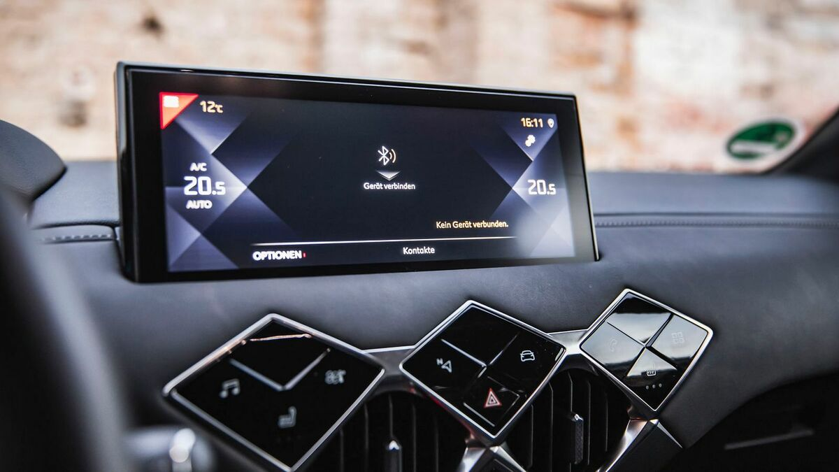 DS3 Crossback Infotainment System