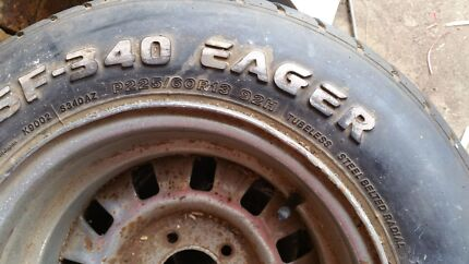 2x tyres with rims Alexandra Hills Redland Area Preview