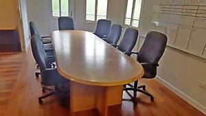 BOARDROOM TABLE & CHAIRS Townsville Townsville City Preview