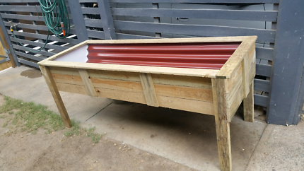 RAISED GARDEN BEDS 1800 LONG 750 HIGH 700 WIDE