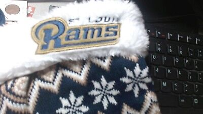 St Louis Rams Logo (OLD ST LOUIS RAMS   Logo  Christmas Stocking 17