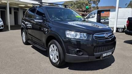 2012 Holden Captiva SERIES 2, 7 Seat, 6 Speed Auto, Sunroof