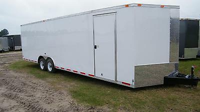 8.5x28 8.5 X 28 Enclosed Trailer Cargo Car Hauler 5200 30 32 Motorcycle Utility