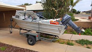 14ft tinnie and camper trailer Port Pirie Port Pirie City Preview